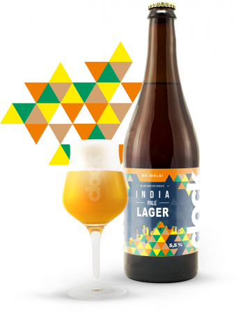 Pivovar Clock - India Pale Lager 13° 0,7l (India Pale Lager)