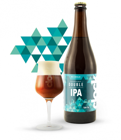 Pivovar Clock - Double IPA 19° 0,7l (IPA - Imperial / Double)