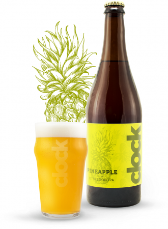 Pivovar Clock - Pineapple Session IPA 11° 0,7l (Session IPA)