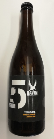 Pivovar Raven - Year 5 IPA 14° 0,7l (India Pale Ale)