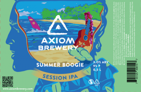 Pivovar Axiom - Summer Boogie 9° 0,5l (Session IPA)