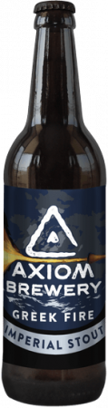 Pivovar Axiom - Greek Fire 27° 0,33l (Imperial Stout)
