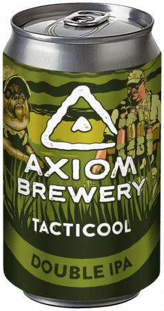 Pivovar Axiom - Tacticool 18° 0,33l (Double IPA)