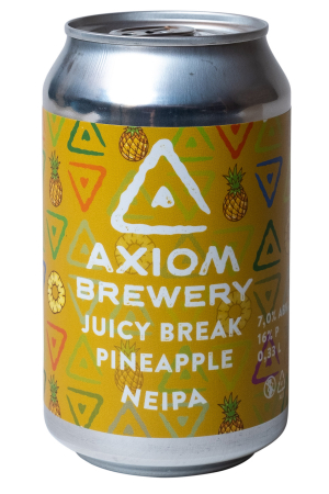 Pivovar Axiom - Juicy Break Pineapple 16° 0,33l (New England IPA)