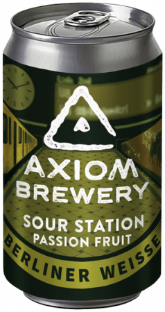 Pivovar Axiom - Sour Station Passion Fruit 10° 0,33l (Sour)