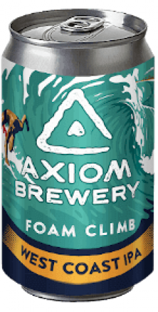 Pivovar Axiom - Foam Climb 15° 0,33l (India Pale Ale)