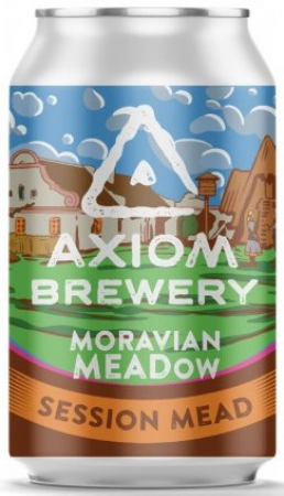 Pivovar Axiom - Moravian MEADow 15° 0,33l (Session MEAD)