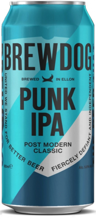 BrewDog - Punk IPA 13° 0,5l (India Pale Ale)